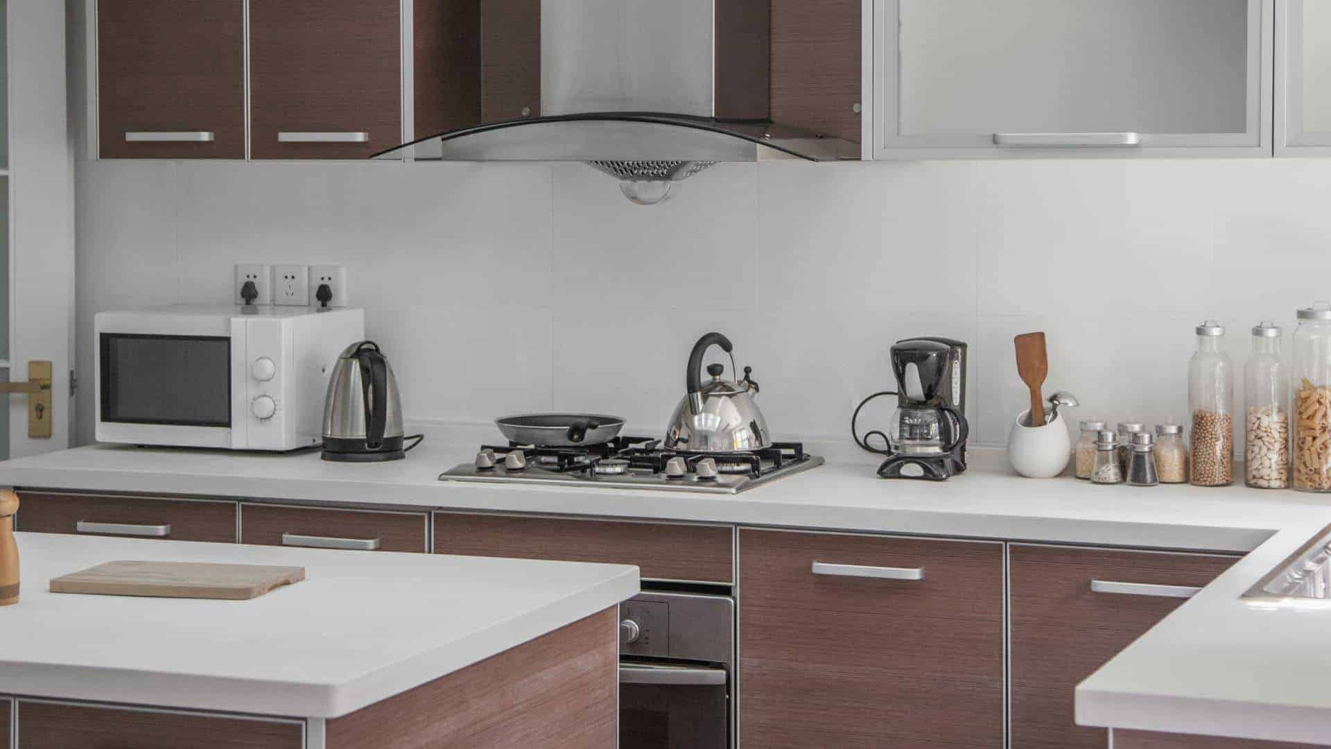 Large, open, modern kitchen, small appliance repair, Perth