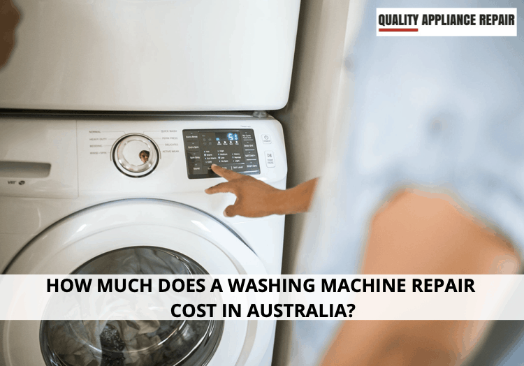 How much does a washing machine repair cost in Australia?