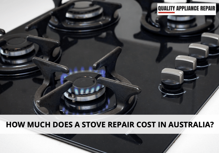 How much does a stove repair cost in Australia?