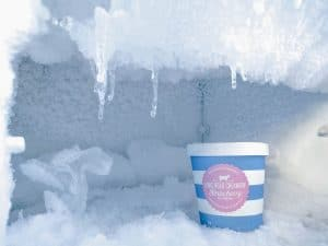 freezer not defrosting, full of ice, broken freezer