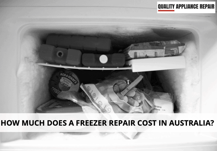 How much does a freezer repair cost in Australia