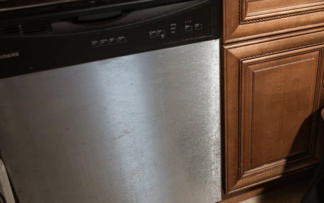 a silved clogged dishwasher that needs to be fix