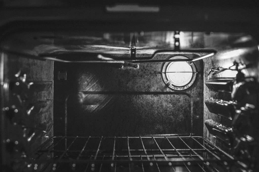 image inside the oven, temperature sensor is not working