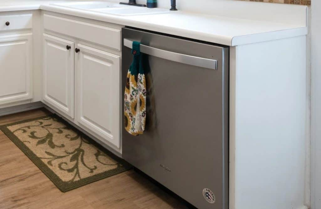 know the age of a dishwasher