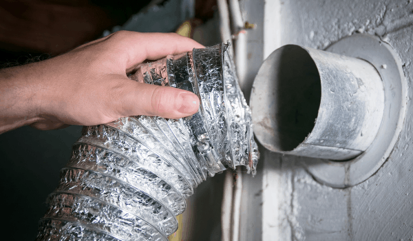 get the dryer vents cleaned